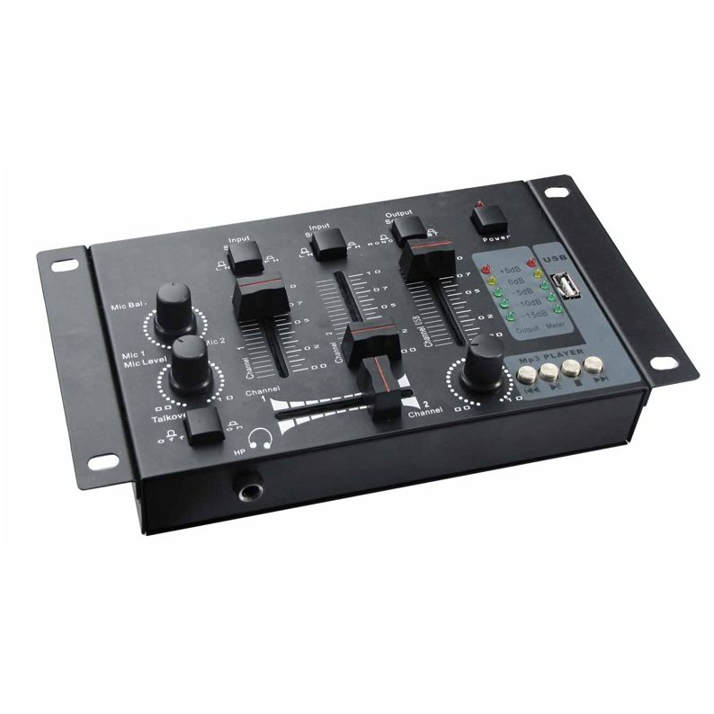 TABLE DE MIXAGE + LECTEUR USB MP3