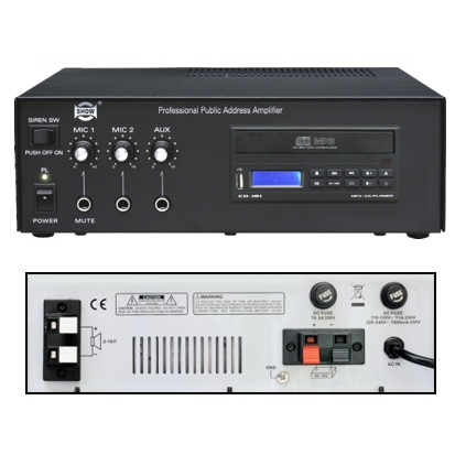 AMPLI PA CD 20W ANTI-CHOCS