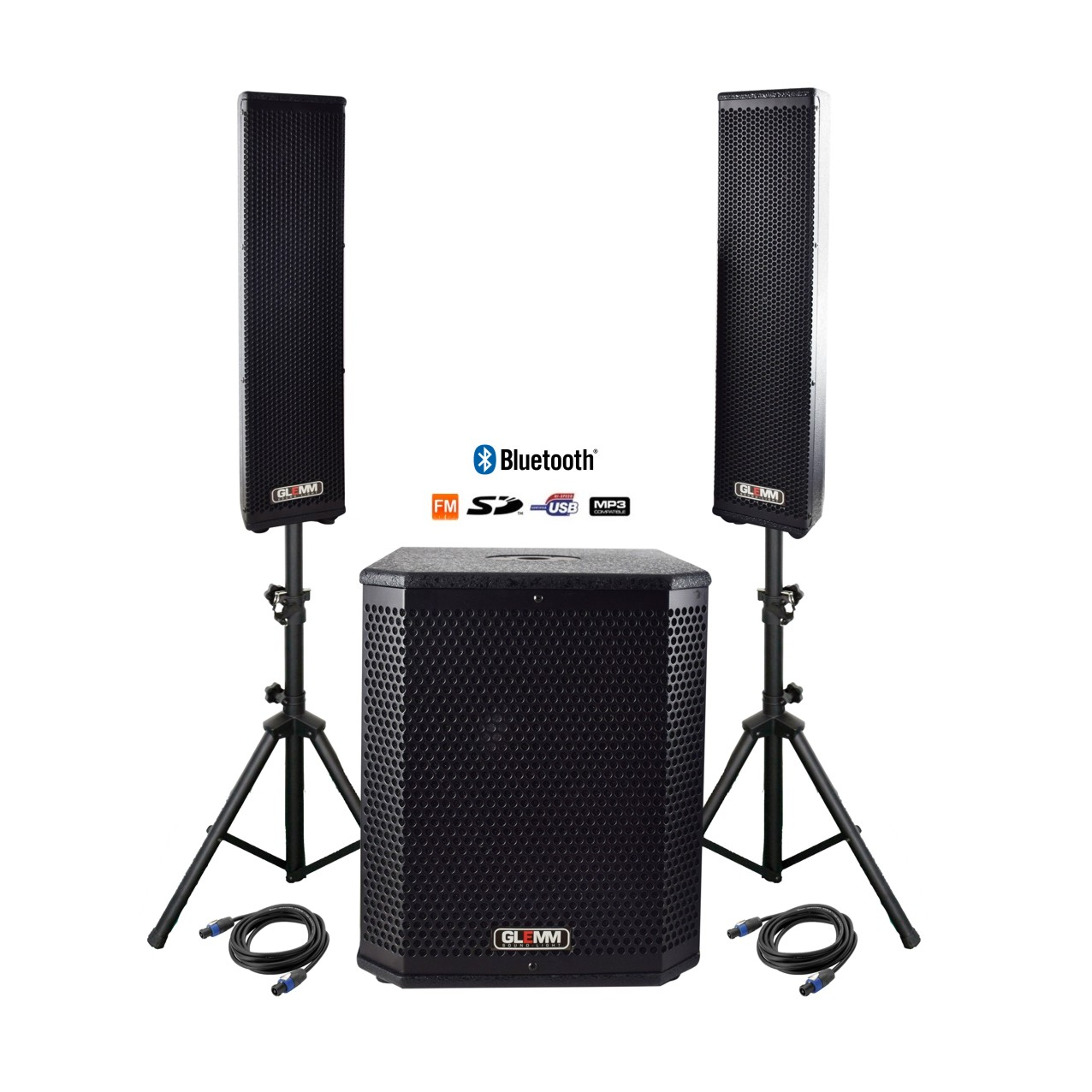 SYSTEME TRIPHONIQUE AMPLIFIE MP3/BLUETOOTH